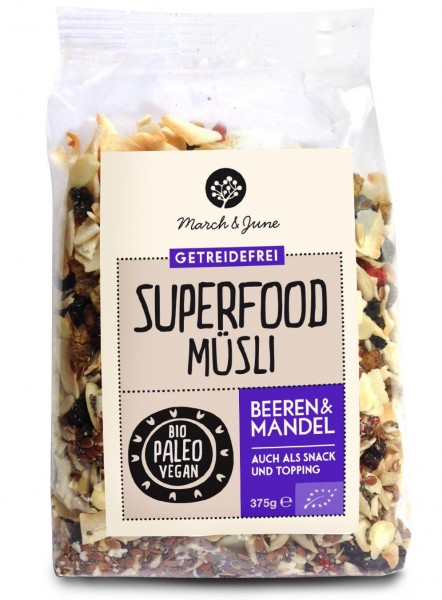 March & June - Superfood Paleo Müsli -