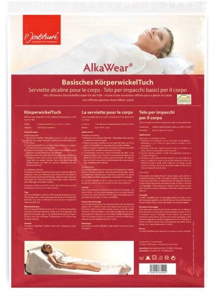 P. Jentschura - Basisches KörperwickelTuch - AlkaWear