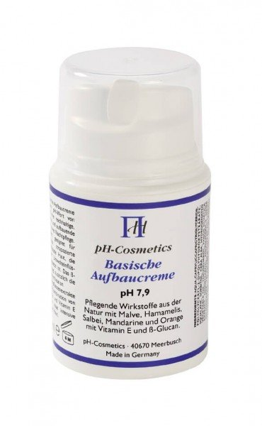 pH-Cosmetics - Basische Aufbaucreme - 50 ml