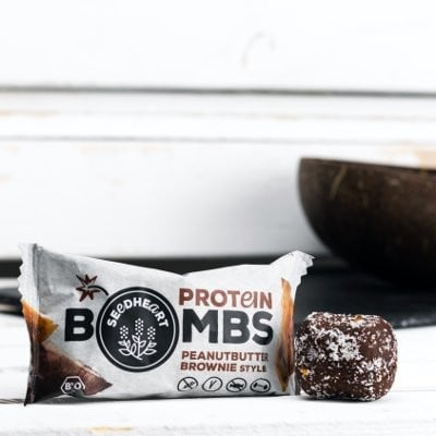 SEEDHEART Protein Bomb Peanutbutter Brownie BIO