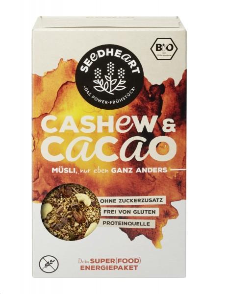 Seedheart_Cashew-Cacao_Müsli_BIO