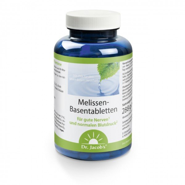 Dr. Jacobs - Melissen-Basentabletten - 250