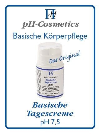 pH-Cosmetics - Basische Tagescreme - 3 ml