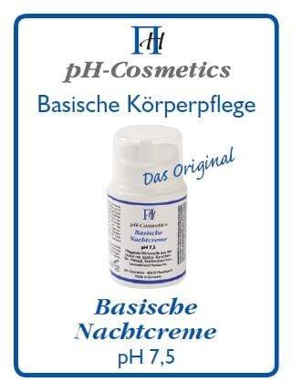 pH-Cosmetics - Basische Nachtcreme - 3 ml