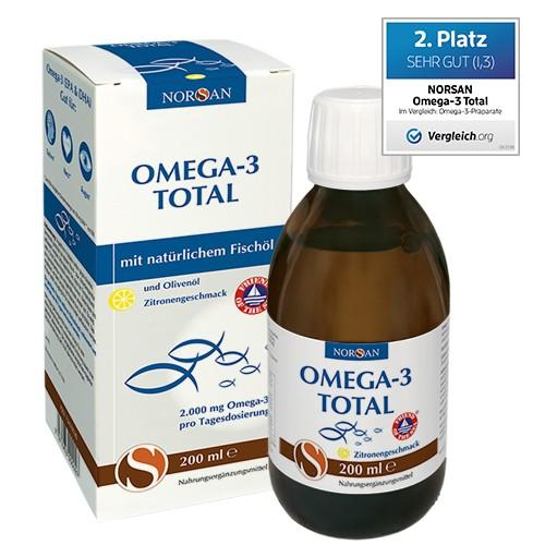 NORSAN OMEGA-3 Öl 200 ml