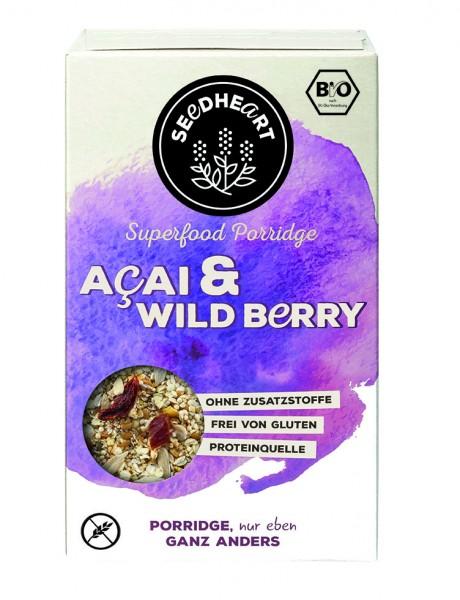 SEEDHEART Porridge Acai & Wild Berry BIO