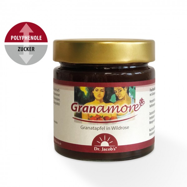 Dr. Jacobs - Granamore Fruchtaufstrich - 260 g