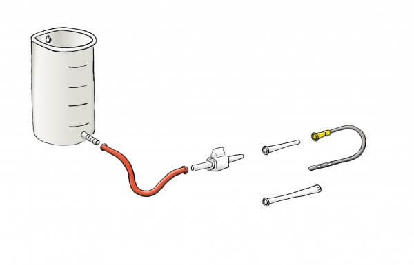 P.-Jentschura-Einlaufgerät/Irrigator