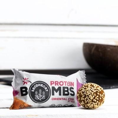 SEEDHEART Protein Bomb Oriental Chai BIO