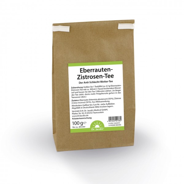 Dr. Jacobs - Eberrauten-Zistrosen-Tee - 1000 g