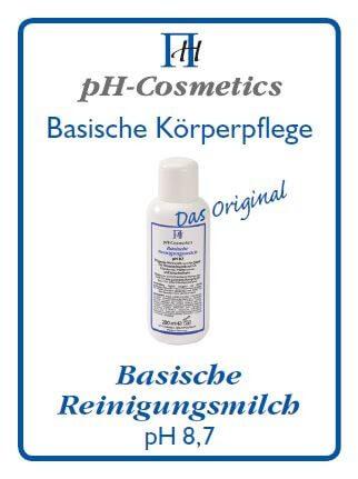 pH-Cosmetics - Basische Reinigungsmilch - Probiergröße - 3 ml